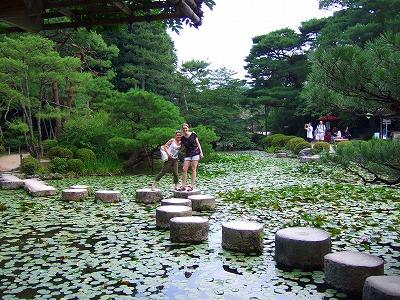平安神宮の中庭