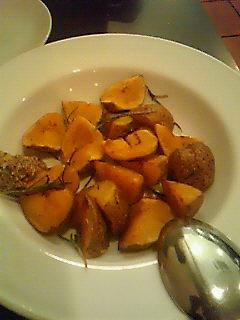 ジャガイモの香草ソテー