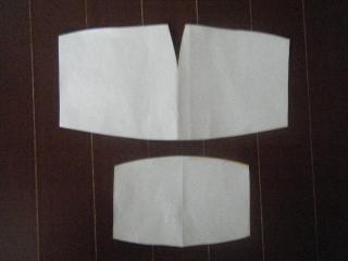 マスク型紙