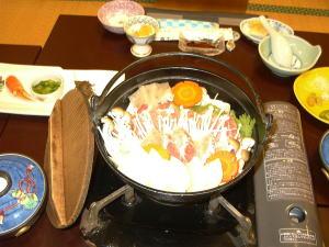 満腹 猪鍋