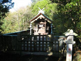 竜蛇神社、拝殿