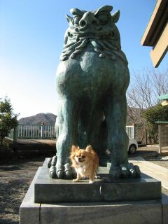 ラルフ&狛犬