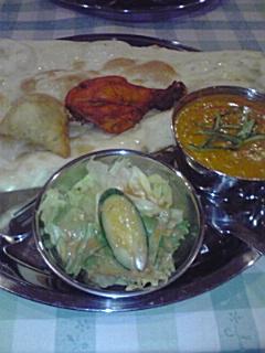 090719 滝谷のインド料理