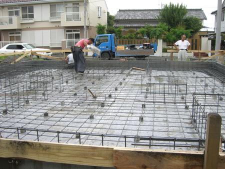 密度の濃いコンクリート配合