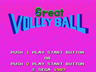 グレートバレーボール