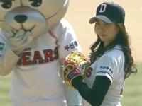 SNSD(少女時代)、豆花妹が始球式! 韓国・台湾・日本のBaseBall開幕式