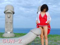 韓国の性のテーマパークで大胆な野外露出してる画像