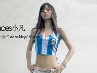 最近中国のネット上で人気の美少女・凡小爱(FanXiaoai)