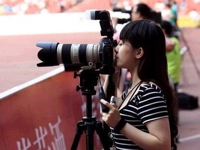 中国で最もセクシーな女性記者?