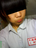美少女中学生の自分撮りヌード画像 1