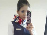 上海の90後・10代の美少女スチュワーデス 潘婷(パンテーン)