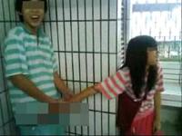 台湾の中学生カップルが彼女に手コキさせてる動画をYouTubeにアップ