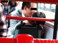 バスで女の上に男が跨って座ってるクレイジーなカップルがいたと中国で話題らしい