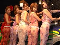 東京オートサロン 2011 AIWA GIRLSのセクシー画像
