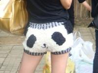 中国でパンダパンツの娘「熊猫妹」がかわいいと話題らしい