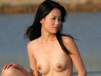中国美女モデルのセクシーヌード画像104 Tian Fang