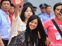 蒼井そら 中国・南昌の国際モーターショーに登場で中国のファン熱狂