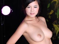 中国美女モデルのセクシーヌード画像126 可馨
