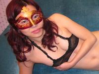 マスクを付けて撮影したプライベートヌード画像