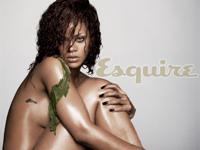 Rihanna(リアーナ) エスクワイア誌が選ぶ世界で一番セクシーな女性「Esquire's Sexiest Woman Alive 2011」を受賞