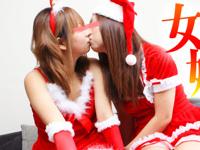 美少女レズ 無修正動画 「レズフェティシズム~女の子だけの姓なるクリスマス~ ユリア&キヨカ 18歳」 12/23 リリース