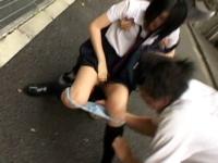 横浜市で女性歩行者の下着を奪う事件が相次いでるらしい
