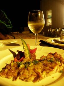 料理とワイン