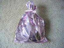 Rieちゃんからのプレゼント袋