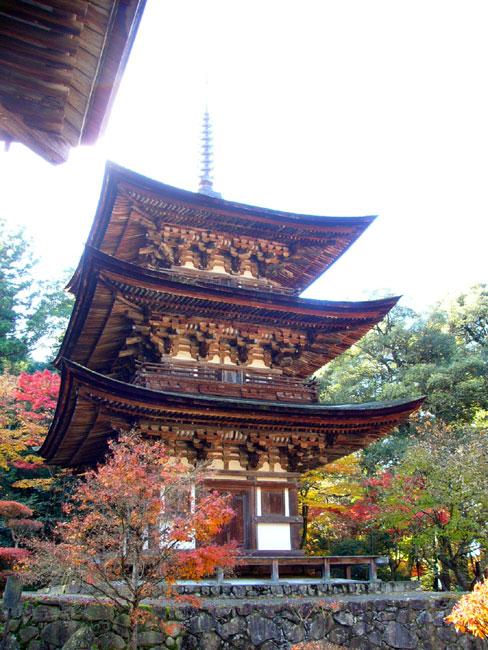 西明寺ー三重塔