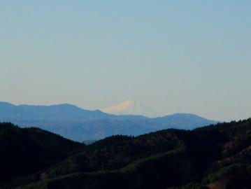 土岳からの富士山