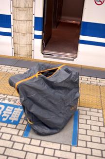 BD-1の輪行バッグ