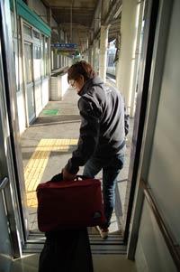 福山駅下車