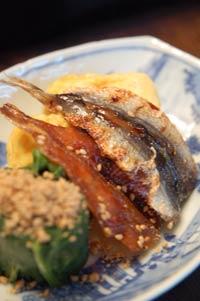 和朝食のママカリ