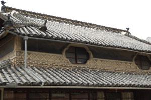 重井町の旧家