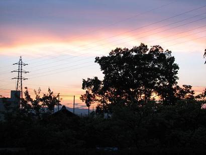 佐野の夕焼け