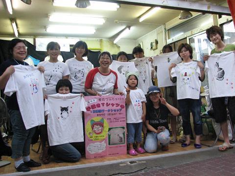 夏猫Tシャツ教室 049