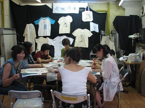 夏猫Tシャツ教室 007