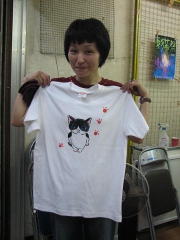 夏猫Tシャツ教室 039