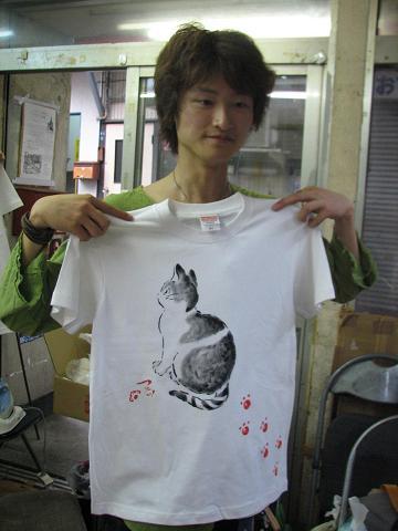 夏猫Tシャツ教室 043