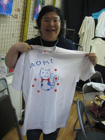 夏猫Tシャツ教室 047