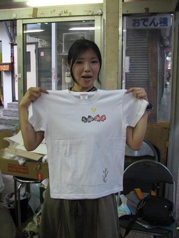 夏猫Tシャツ教室 044
