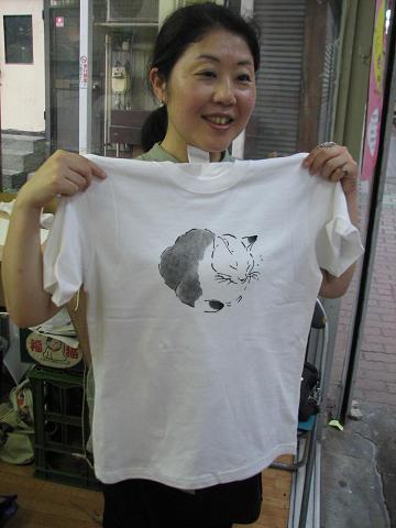 夏猫Tシャツ教室 041