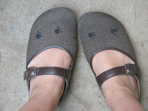 足あと靴 002