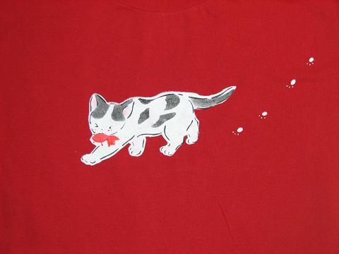 どろにゃあTシャツ 004
