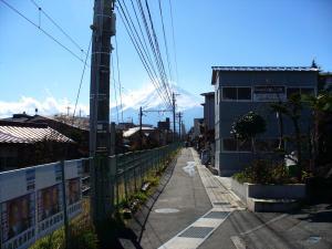月江寺上の線路