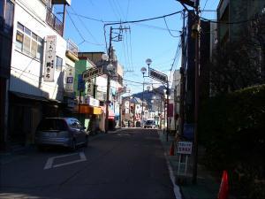 月江寺駅前