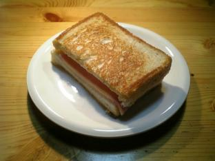 ハムチーズバタートースト001