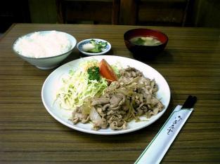大衆食堂タカギ屋 生が焼定食006