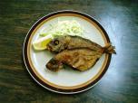 山田ホームレストラン本日の定食B魚から揚げ007