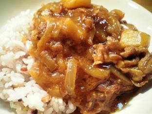 五穀米とキウイカレー002